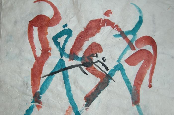 Dance Turquoise-Terracotta