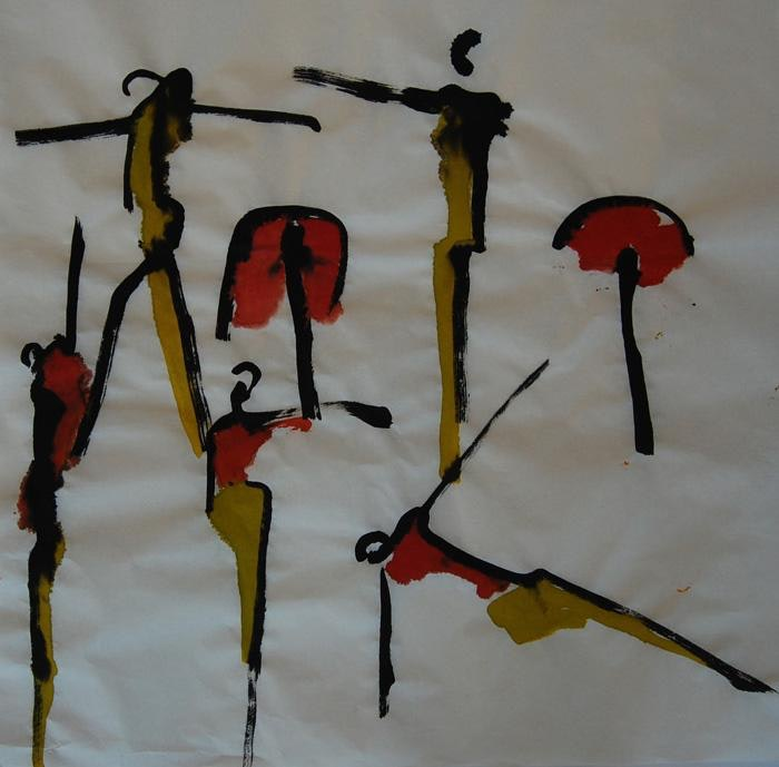 Dance Red-Yellow