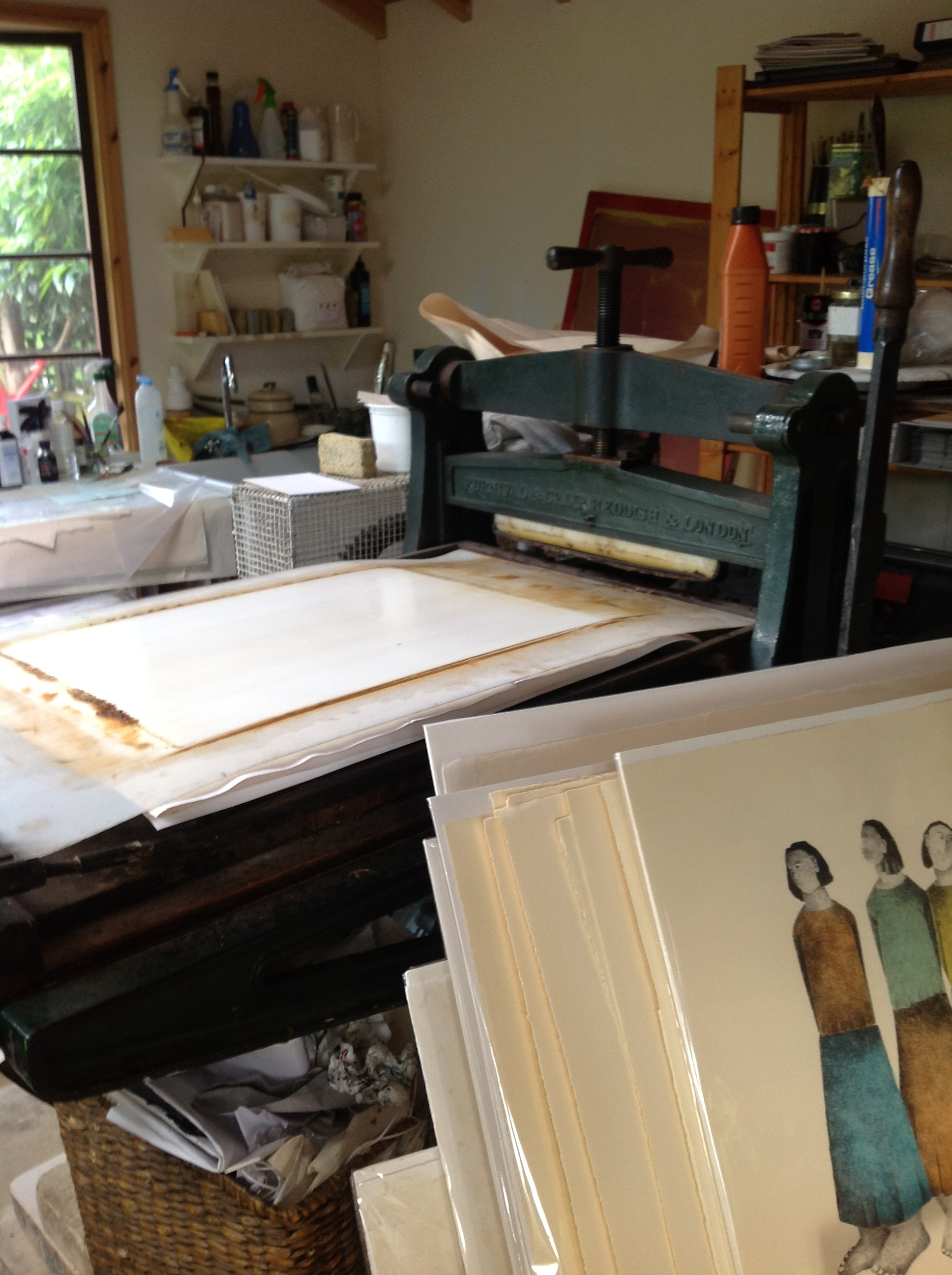 Creating a print
